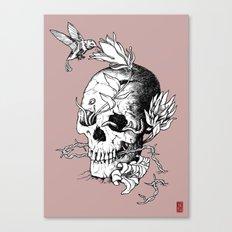 Skull one B Canvas Print