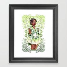Sailor Tiana Framed Art Print