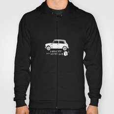 Mini Copper Classic. Thought for being in a box 152 ft³. Hoody