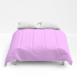 Solid Light Blossom Pink Color Comforters