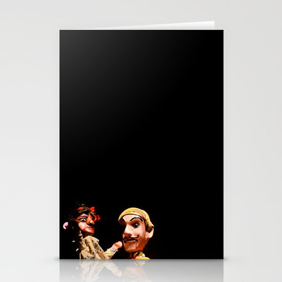 Puppets Stationery Cards
