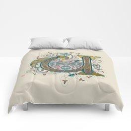 Celtic Initial U Comforters