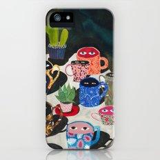 Suspicious mugs iPhone (5, 5s) Slim Case