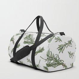 Rosemary rustic pattern Duffle Bag