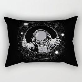 Black Hole Rectangular Pillow