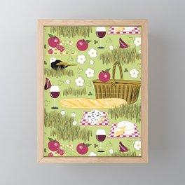 Déjeuner sur l'herbe Framed Mini Art Print