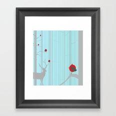 Winter Holidays Framed Art Print
