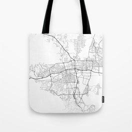Minimal City Maps - Map Of Reno, Nevada, United States Tote Bag