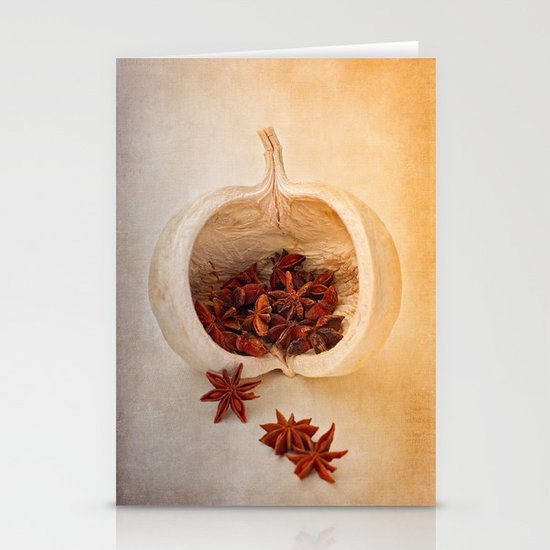 STAR ANISE Stationery Cards