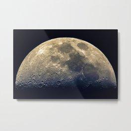 Twilight on the moon Metal Print
