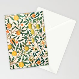 Lemon tree pattern vintage William Morris print Stationery Cards