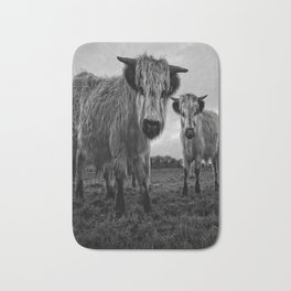 High Park Cow Mono Bath Mat