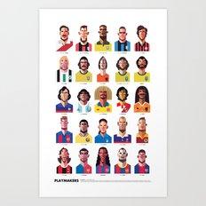Playmakers Art Print