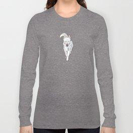 White ALASKAN MALAMUTE Long Sleeve T-shirt