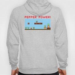 Pepper Power!  8-bit Hoody