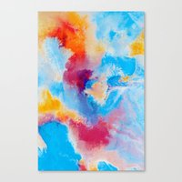 Meld Canvas Print