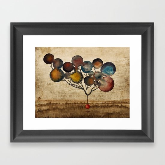 A Cosmic Incident Framed Art Print