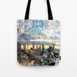 Los Angeles MTA map version 3.1 Tote Bag