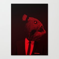 red 3 · the truth is dead Canvas Print