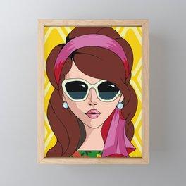 Jane Framed Mini Art Print
