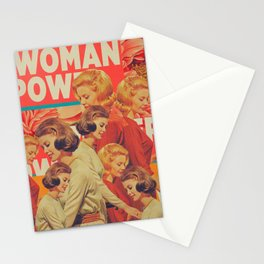 Woman Power Stationery Cards