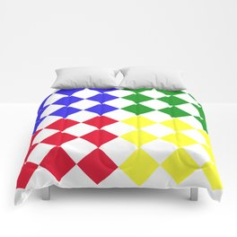 Complementary Triangles Comforters