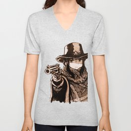 Fastest camp in the west Unisex V-Neck
