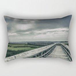 Man In The Clouds Rectangular Pillow