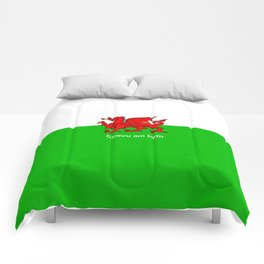 Cymru am byth (Wales For Ever) Comforters