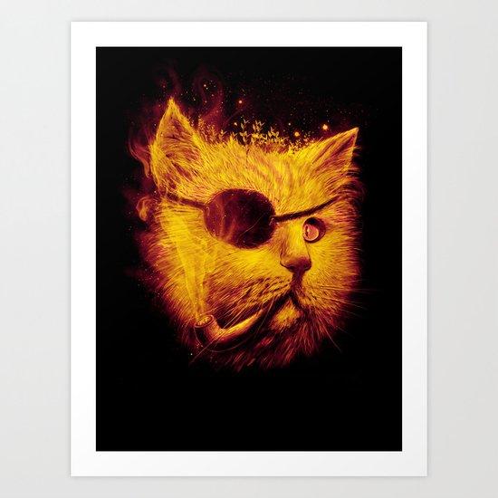Irie Eye Art Print