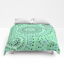 Dots- aboriginal Comforters