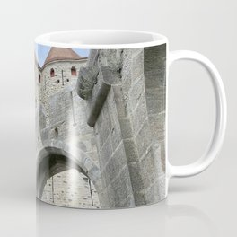 Fortifications inside the City of Carcassonne Coffee Mug