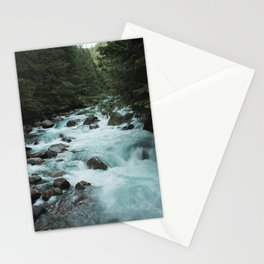 Pacific Northwest River II - Nature Photography Stationery Cards