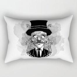 Steampunk Man Rectangular Pillow