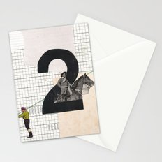 2 - Horse and strings Stationery Cards