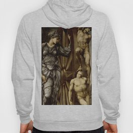 "Edward Burne-Jones ""The Wheel"" Hoody"