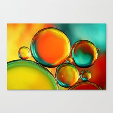 Oil Drop Abstract Canvas Print
