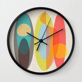 SURF  #Society6 #decor #buyArt Wall Clock