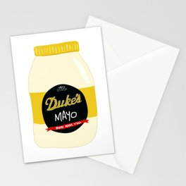 Duke's Mayonnaise Stationery Cards