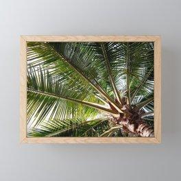 Tropical palm Framed Mini Art Print