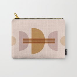 Amber Abstract Half Moon 1 Carry-All Pouch