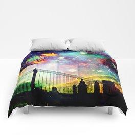 Galaxy Bridge Comforters