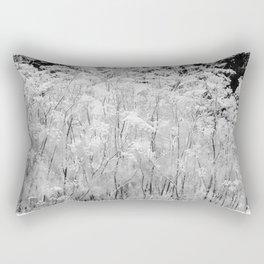 Flower | Flowers | Frosted Ornamental Grasses Rectangular Pillow