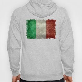 Flag of Italy, Vintage Retro Style Hoody