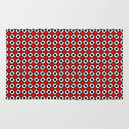 Pop Geometric Tiled Pattern Rug