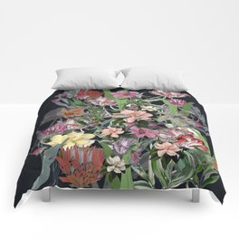 Painted Flowers Comforters