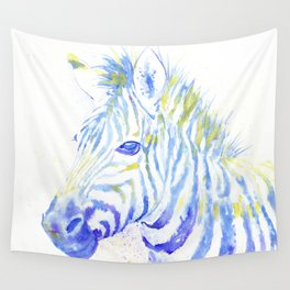 Quiet Zebra Wall Tapestry
