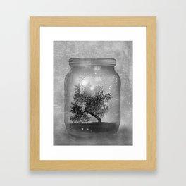 Black and White - Saving Nature Framed Art Print
