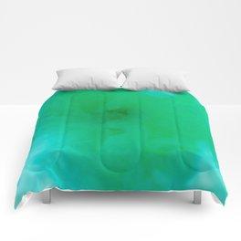 Textures (Green version) Comforters