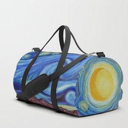 Sunny Starry Night Duffle Bag